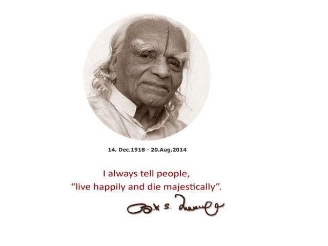 B.K.S. Iyengar has left this plane today...:( he will be missed...& loved always...~namaste