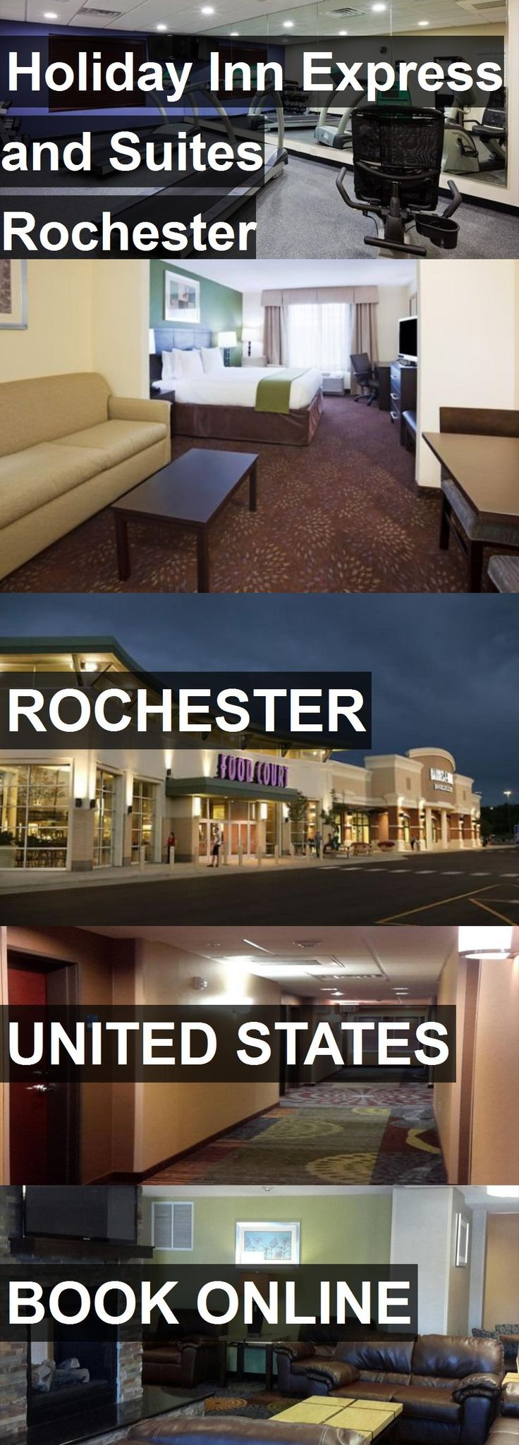 Hotel Holiday Inn Express and Suites Rochester West-Medical Center in Rochester, United States. For more information, photos, reviews and best prices please follow the link. #UnitedStates #Rochester #travel #vacation #hotel