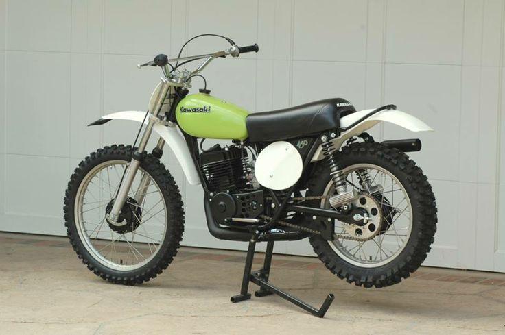 1973- Kawasaki KX450
