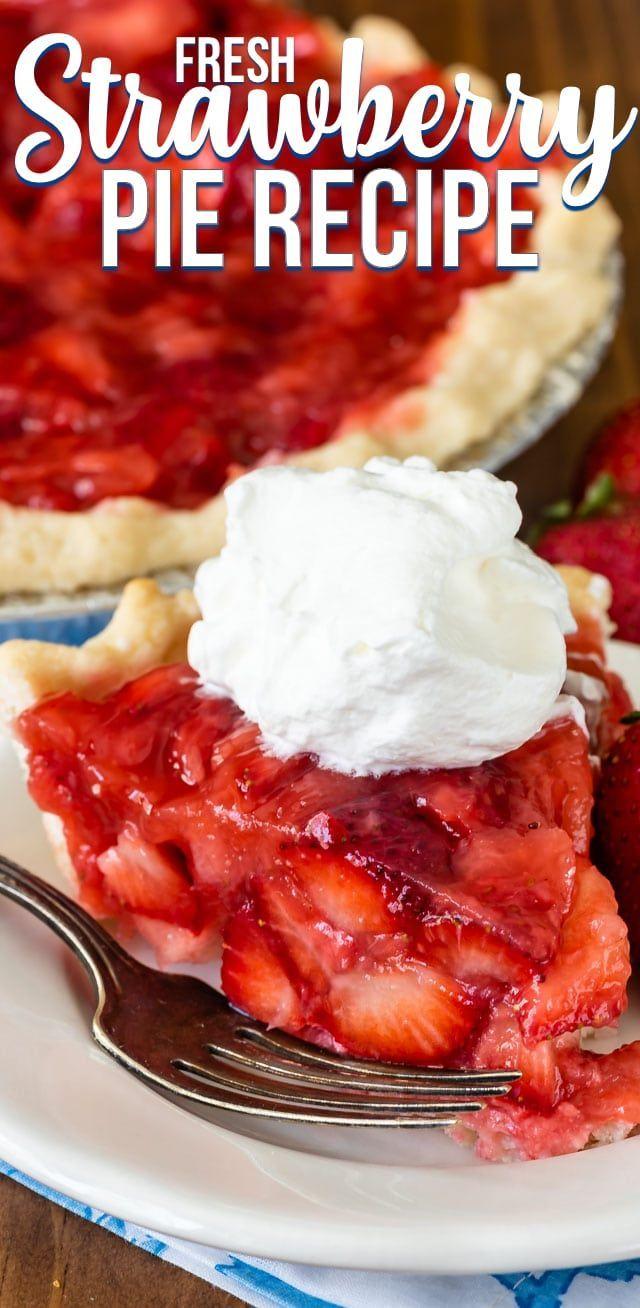 Fresh Strawberry Pie Recipe Strawberry Pie Recipe