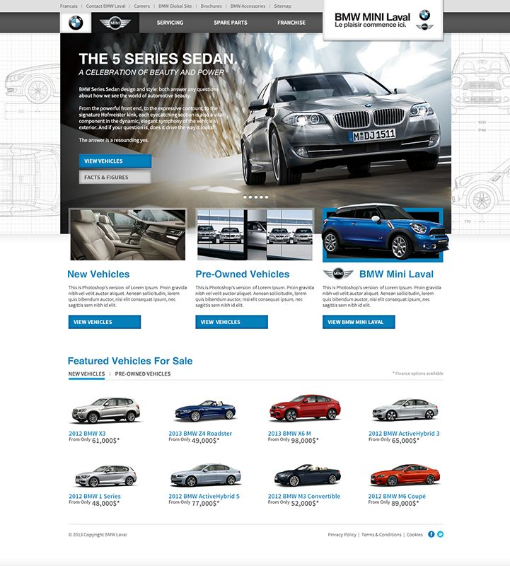 BMW Mini Laval Concept Website Design - Do you need your current website updated? is your #websiteresponsive ? Do you want to #drivemore traffic to your website? Get in touch with a #digitaldesign expert