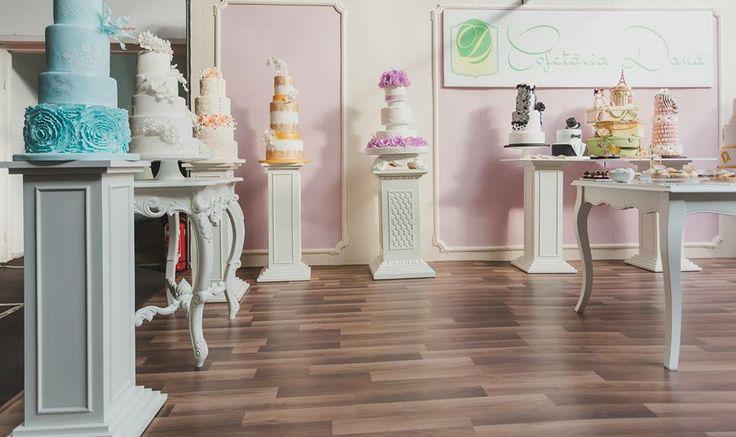 Concept&design stand expozitional by Vanilla Events pentru Cofetaria Dana