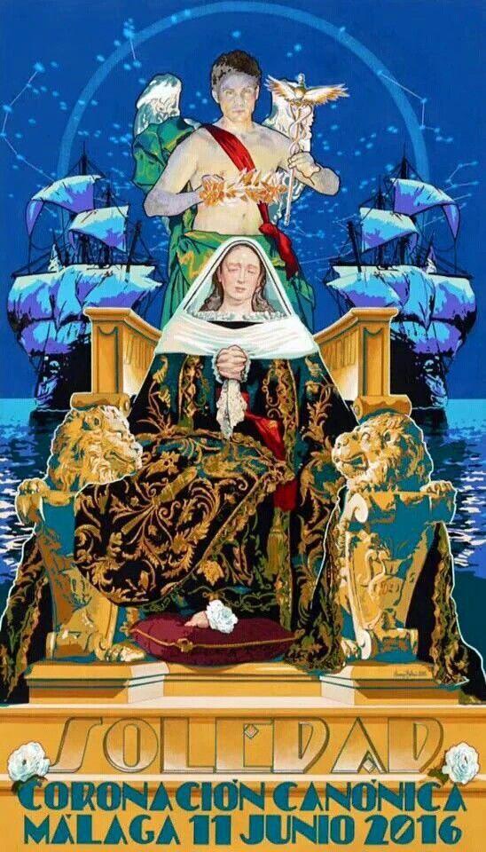 Cartel Coronación Soledad de Mena.