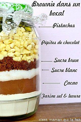 recette brownie dans un bocal recette dans un bocal m