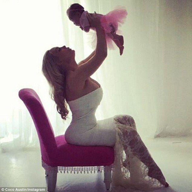 Coco Austin serenades newborn daughter Chanel with Little Mermaid song