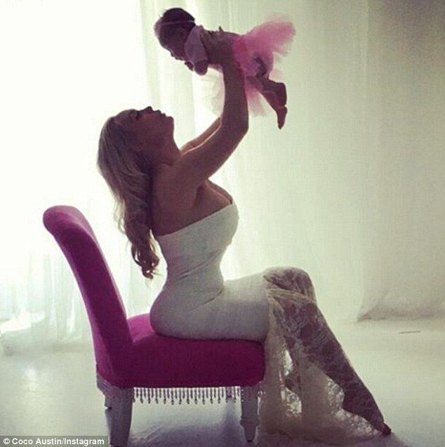 Coco - born Nicole - wrote:'I have to say my baby is a natural. She works the camera perf...