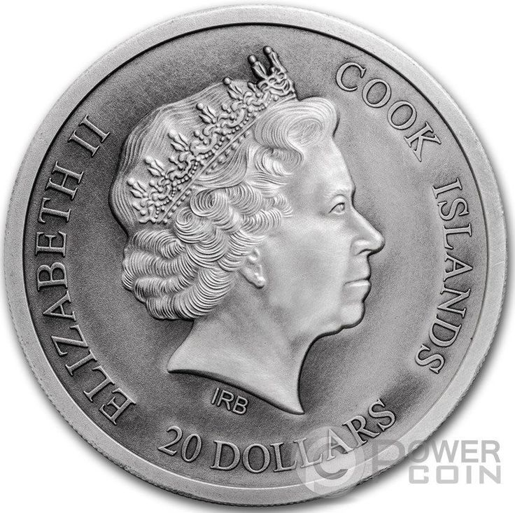 ST PETERS BASILICA Silver Coin 20$ Cook Islands 2016