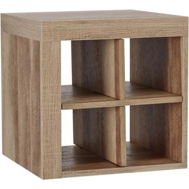 storage shelves walmart better homes and gardens cube storage shelf rustic 26892