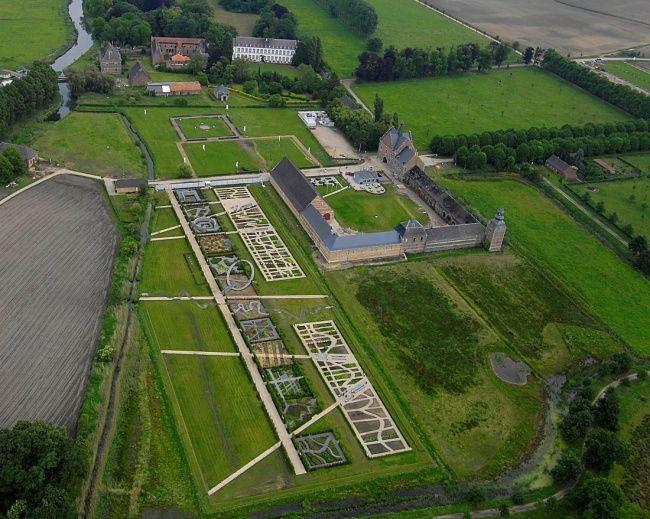 Herkenrode - kruidentuinen abdijhoeve / Studiebureau - Buro voor vrije ruimte GENT  Slegers Algemene Aannemingen & Tuinbouw