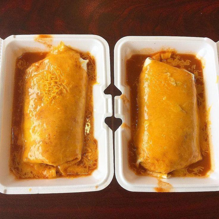 Two super wet veggie burritos @tacoboygr #wetburrito #tacoboygr #tacoboy #burrito #puremichigan