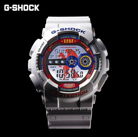 G-Shock X Gundam