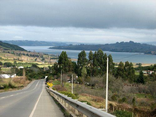 Que hermoso paisaje !!! Dalcahue , Chiloe , chile..
