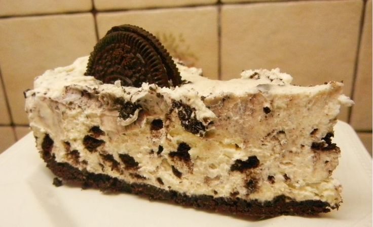 [Homemade] I made a Oreo Cheesecake http://ift.tt/2hI47hC