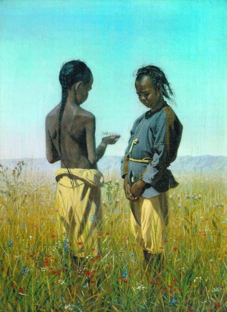 The children of the tribe Solonov - Vasily Vereshchagin - WikiPaintings.org