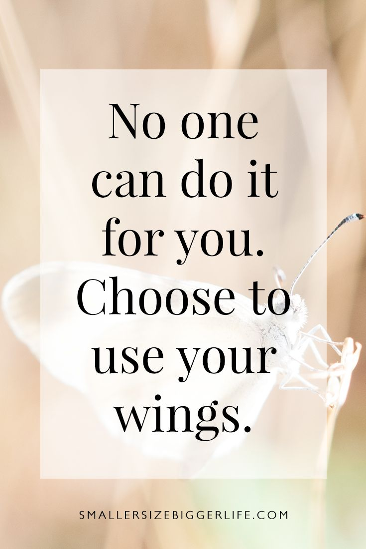 Choose to use your wings <3