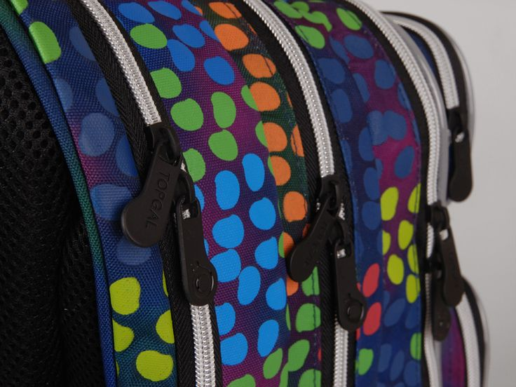 Soczyste kolory plecaka z kameleonem, model CHI 602