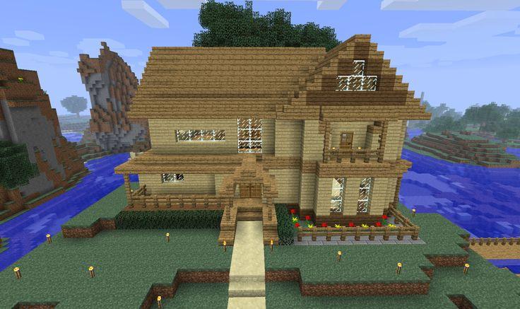 survival minecraft house 03