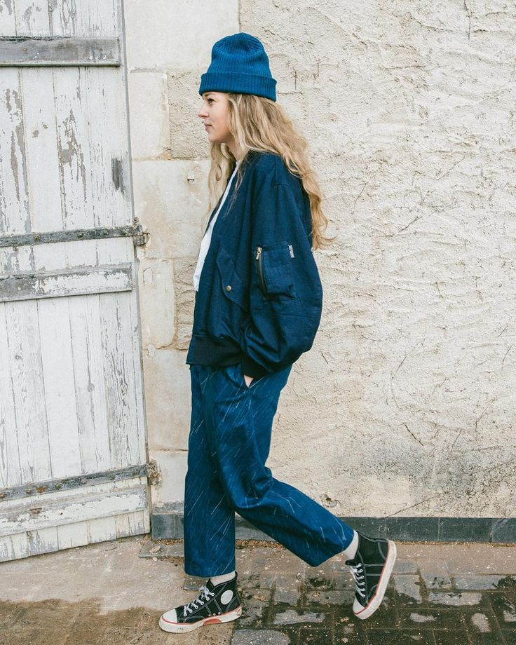 """STORY mfg. AW16 """"Tulpa Trek"""" - link to full collection preview in bio! STORY mfg.'s AW16 collection titled """"Tulpa Trek"""" takes inspiration from ramblers walkers foragers strollers hikers and casual campers to create a wardrobe of unisex British """"Walk Wear"""". Heavily influenced by the drizzle and chill of British winter weather the collection features rain patterns realised in ikat weaves natural indigo paint and laser scorching on denim. Once again natural dyes gathered both home and away take…"""