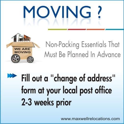 83 Best Packers And Movers Images On Pinterest Packers And   Free Change Of Address  Form  Free Change Of Address Form Online
