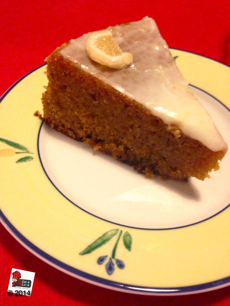 Tomorrow is  World Baking Day! Foodblog www.mycakeisluka.com made ginger and lemon cake.