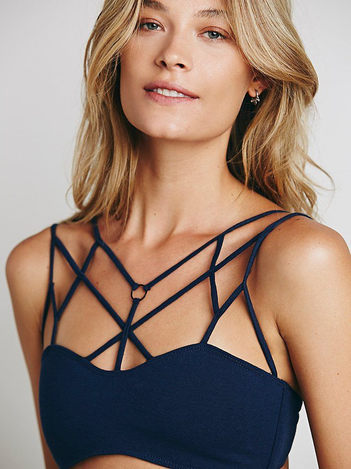 Free People Strappy Front Bra, Mex$1007.31