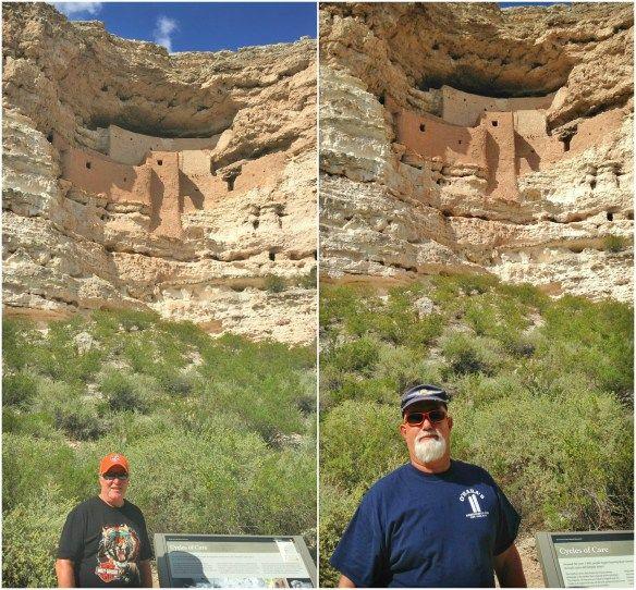 adventuredawgs.com at Montezuma Castle National Monument AZ