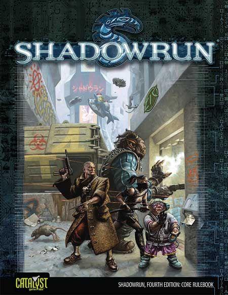 Shadowrun, Rule Book 4th Ed.