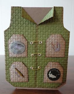 Indiana Inker - Fishing Vest Card