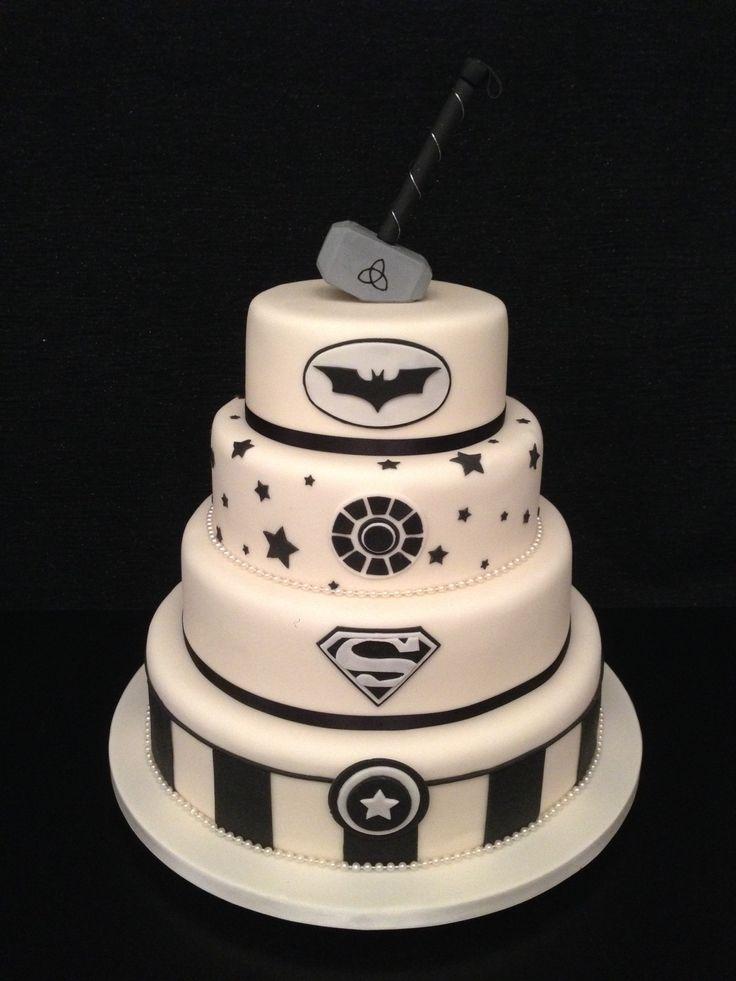 superhero wedding cakes - Google Search