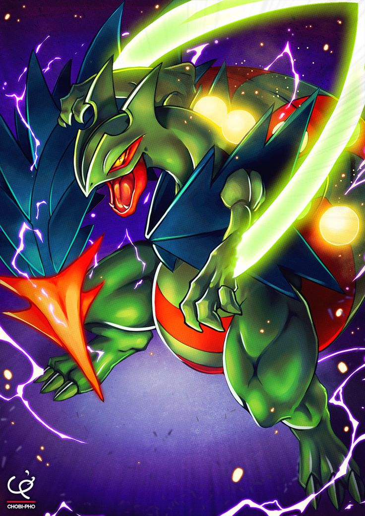 DRAGON BLADE!!! MEGA SCEPTILE!!! by CHOBI-PHO on DeviantArt<<<my sceptile knows dragon blade
