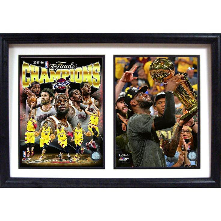 Encore Select 2016 NBA Champions Cleveland Cavaliers Framed Wall Art