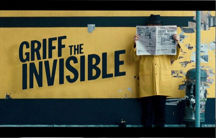 Griff The Invisible | by hytam2