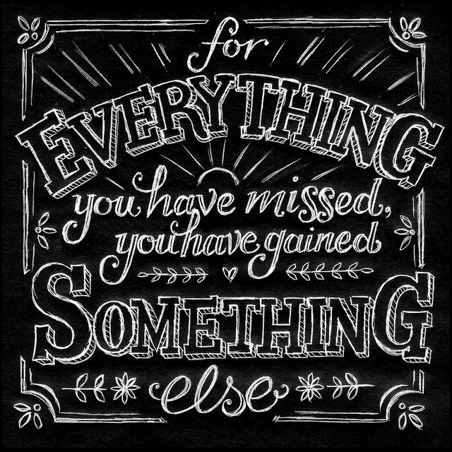 http://www.pinterest.com/Archinautz/ Random Doodle No.14    Hand lettered quote by Ralph Waldo Emerson.  Drawn in pencil and reversed to give a chalkboard effect.  By Alexandra Snowdon.