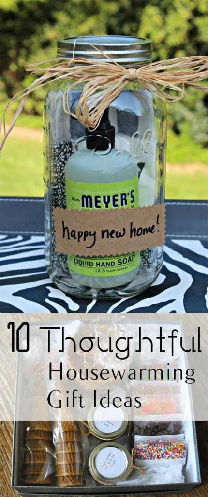 10 ideas creativas del estreno de regalo COMO HACERLO --------   10 Thoughtful Housewarming Gift Ideas