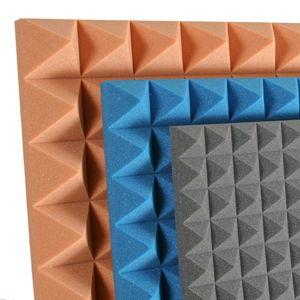 soundproof acoustic studio foam wall tiles gray egg crate on ebay