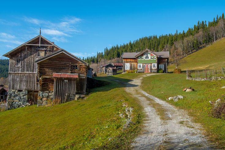 Historic Mountain Farmin Telemark by Ole Morten Eyra