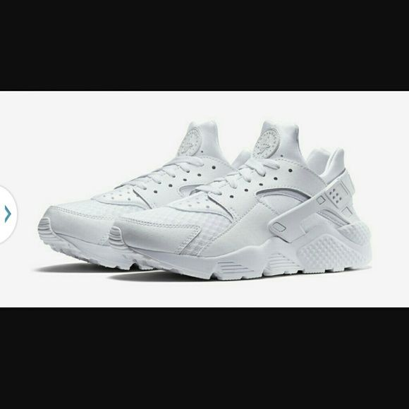 ISO. White Huaraches All white size 8, brand new or barely worn. No marks please. I like super clean shoes!! nike Shoes Athletic Shoes