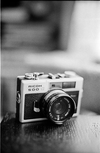 Ricoh 500G fixed lens rangefinder.   Long Live Film ...