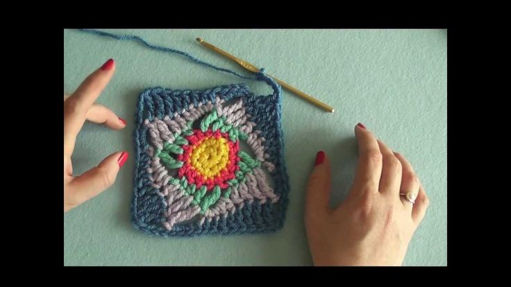 How to: Make the Wonky Squares Motif (crochet) - Video <3