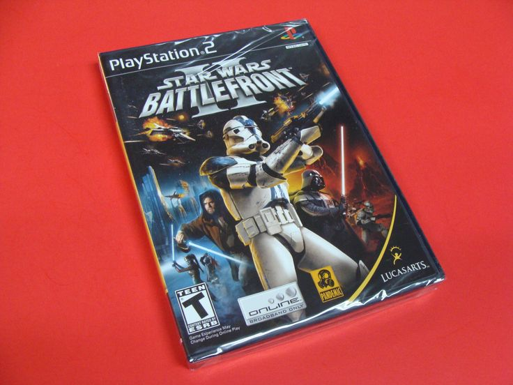 Star Wars Battlefront II Sony PlayStation 2 PS2 Brand New Factory Sealed!: $49.99 End Date: Saturday Jan-6-2018 17:09:26 PST Buy It Now for…