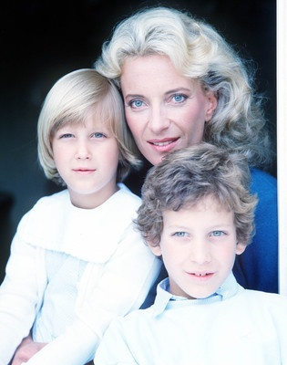 About Princess Michael of Kent:  Princess Michael with her children Lady Gabriella and Lord Frederick Windsor