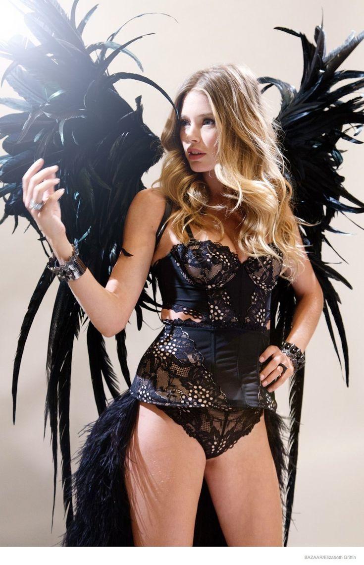 Victoria Secret, bientôt le défilé !! Doutzen Kroes révèle les coulisses en posant dans une des tenues !