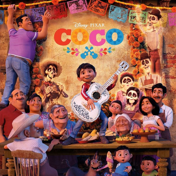 En lo más fffres.co: 'Coco' la película de Pixar del Día de Muertos: Recogiendo las costumbres locales y los símbolos de su folclore, Pixar…