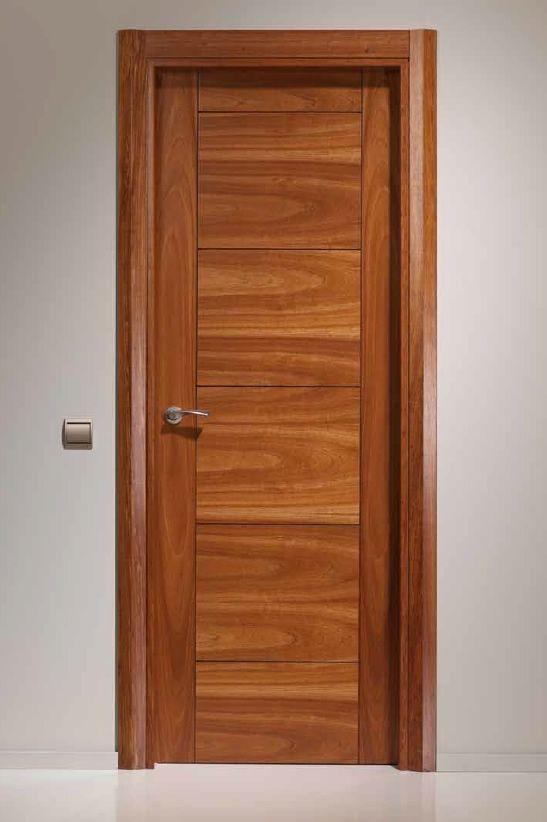 17 mejores ideas sobre puertas principales modernas en for Puertas en madera para interiores