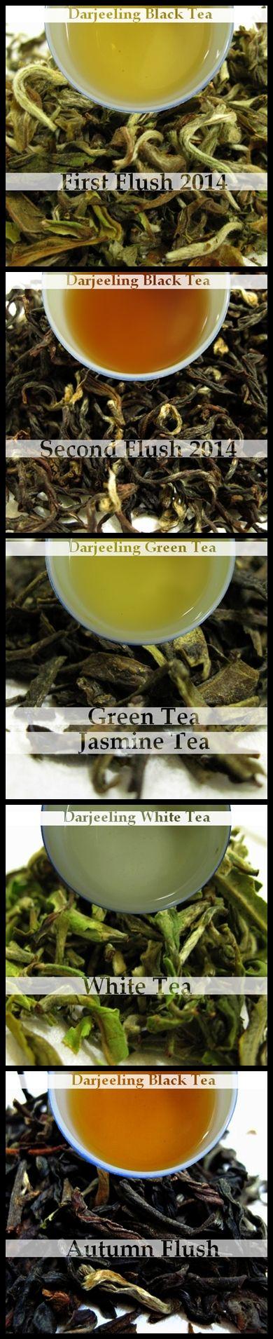Darjeeling Teas from Darjeeling Tea Boutique. #Darjeelingtea #Darjeeling #tea