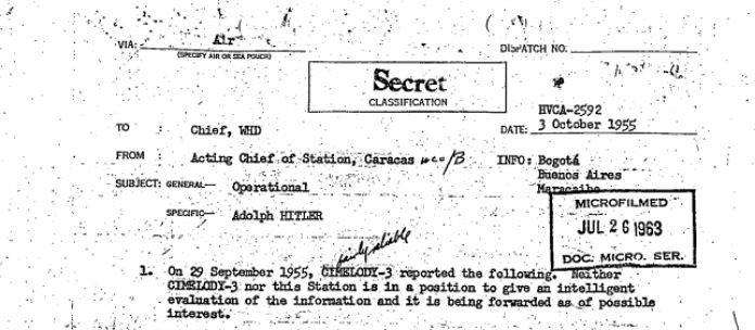 Colombian Historian Has 'Proof' Pablo Escobar Was Adolf Hitler's Son  hitler-cia