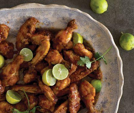 Peruvian Chicken Wings Recipe