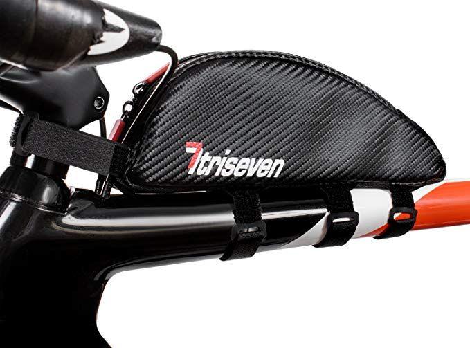 4fc5a9e93b3 TriSeven Aero 30 Carbon Cycling Frame Bag - Lightweight Storage for  Triathlons   MTB