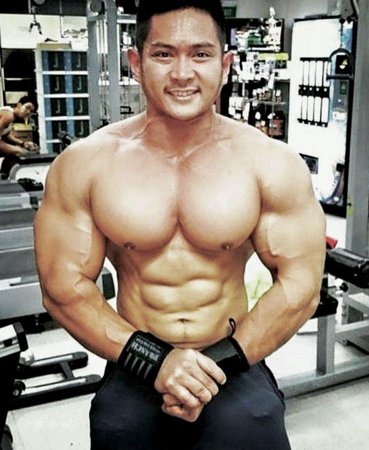 Pin by Dan Ip on Asian bodybuilders | Sporty, Muscle, Style