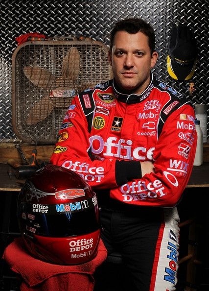 Tony Stewart Tony Stewart, driver of the #14 Mobil 1/Office Depot ...